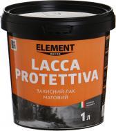 Лак Decor Lacca Protettiva Element Decor мат 1 л прозорий
