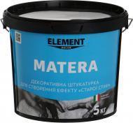 Декоративна штукатурка Matera Element Decor 5 кг білий