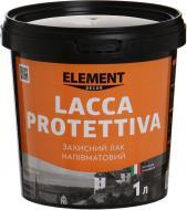 Лак Decor Lacca Protettiva Element Decor напівмат 1 л прозорий