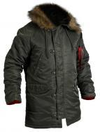 Куртка-парка Chameleon Аляска Slim Fit N-3B S oliva