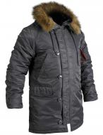Куртка-парка Chameleon Аляска Slim Fit N-3B S Grey