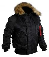 Куртка Chameleon Аляска Slim Fit N-2B S черный