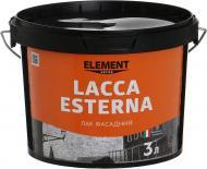 Лак Decor Lacca Esterna Element Decor глянець 3 л прозорий