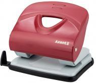 Дырокол Exakt-2 30 листов металлический красный Axent