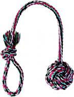 Іграшка для собак Trixie М'яч із канату на мотузці 7 см 3269