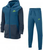Спортивный костюм Nike B NSW CORE BF TRK SUIT BV3634-301 р. M голубой