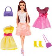 Лялька Ася брюнетка з аксесуарами Яскравий у моді