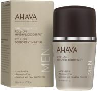 Дезодорант для чоловіків AHAVA Deadsea Water кульковий 50 мл