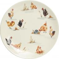 Тарілка обідня Пташина ферма 27 см Claytan Ceramics