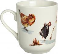 Чашка для чая Птичья ферма 370 мл Claytan Ceramics