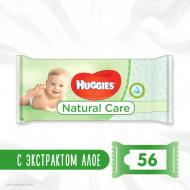 Вологі серветки Huggies Natural Care 56 шт.