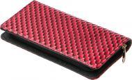 Гаманець жіночий Solid на блискавці 21х11х2 см червоний