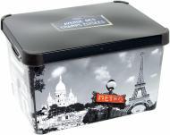 Ящик для зберігання пластиковий Curver 213242 Paris ХL 250x295x395 мм