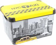 Контейнер для зберігання пластиковий Curver 213238 «Taxi-NY» ХL 250x295x395 мм