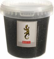 Ґрунт для акваріума GUTTI Пісок 93 чорний 1,7 кг