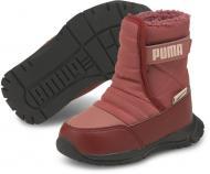 Сапоги Puma Nieve Boot WTR AC Inf 38074604 р.UK 9 бордовый