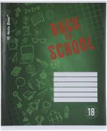 Тетрадь школьная 18 листов в клетку 1 Nota Bene