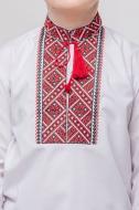 Вишиванка для хлопчиків Сварга Говерко р.98-104 червоно-чорний
