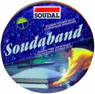 Покрівельно-ущільнююча стрічка SOUDAL SOUDABAND алюмінієва 150 мм x 10 м