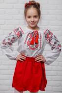 Спідниця для дівчаток Барвінок Сварга р.104-110 червоний