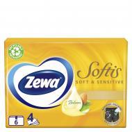 Серветки гігієнічні у коробці Zewa Soft Sensetive 54 шт.