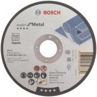 Круг відрізний по металу Bosch  125x1,0x22,2 мм 2608603396