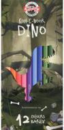 Олівці кольорові Dino 12 шт. 3592012007Ks Koh-i-Noor
