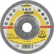 Круг відрізний по кольоровому металу Klingspor А46 N Supra  125x2,5x22,2 мм 11306