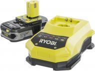 Батарея акумуляторна RYOBI ONE+ та зарядний пристрій RBC18L15