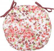 Подушка на стілець Акварель Барвисті квіти D-40 La Nuit
