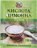 Кислота лимонна 20 г Добрик (4820076011221)