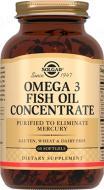 Омега 3 концентрат риб'ячого жиру, 60 шт. капсули