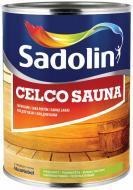 Лак для лазні Celco Sauna Sadolin напівмат безбарвний 1 л