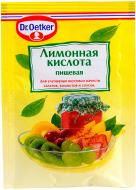 Кислота лимонна 8 г Dr. Oetker (5941132002065)