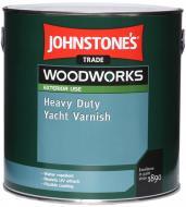 Лак яхтовий Heavy Duty Yacht Varnish Johnstone's глянець безбарвний 0,75 л