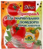 Приправа Деко для маринування помідорів перцю кабачків 30 г