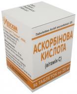 Аскорбінова кислота №50 в конт. таблетки 50 мг