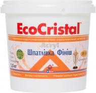Шпаклевка EcoCristal Финиш ИР-24 1,5 кг