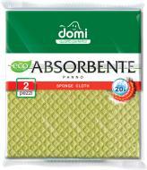 Серветка універсальна Domi антибактеріальна 20х18 см 2 шт./уп.