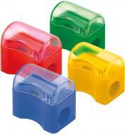 Чинка з контейнером Comfy D9702 асорті кольорів Axent