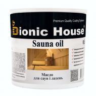 Масло Bionic House Sauna oil для саун и бань 2,5 л