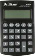 Калькулятор кишеньковий BS-200 BRILLIANT