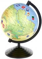 Глобус Україна 16 см Г160у