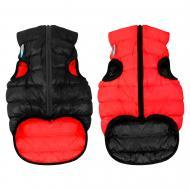 Куртка Airy Vest двостороння для собак M 50 червоно-чорна