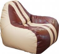 Крісло Примтекс Плюс Simba Sport H-2201/H-002 M бежевий із коричневим