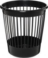 Корзина офісна для паперу 10 л. пластикова чорна 82061 Arnika