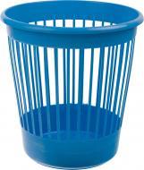 Корзина офісна для паперу Arnika 10 л пластикова синя 82063 синій
