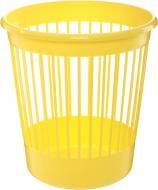 Корзина офісна для паперу Arnika 10 л пластикова жовта 82065 жовтий