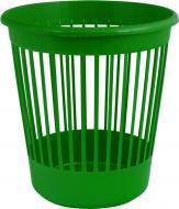Корзина офісна для паперу Arnika 10 л пластикова зелена 82066 зелений
