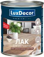 Лак для дерева LuxDecor напівмат прозорий 0,75 л